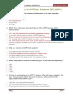 CCNA 2 Chapter 8 v5.0 Exam Answers 2015 100