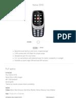 Nokia 3310 – the Original Mobile Phone, Updated _ Nokia Phones
