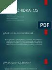 Trabajo de Carbohidratos