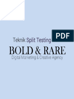 eBook Split Test FB Ads Gaya Bold Rare