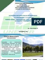 ESTACIONES CLIMATOLOGICAS UNESUR