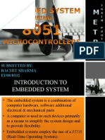embedded system using microcontroller 8051