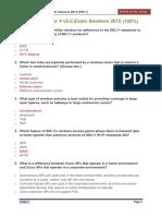 CCNA 3 Chapter 4 v5.0 Exam Answers 2015 100