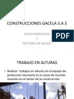 Diapositivas Trabajo Seguro en Alturas y Estandares de Seguridad