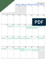 Home Reno Calendar