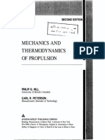 Mechanics and Thermodynamics of Propulsion - Hill Peterson