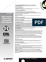 Codes and Regs-spill Control and Environmental