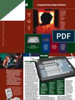 Tascam CompRec Brochure