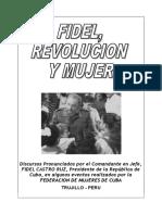 Folleto Fidel, Mujer y Revolucion