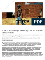 'Africa's Arms Dump'_ Following the Trail of Bullets in the Sudans _ World News