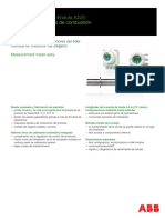 analizador de oxigeno   AZ20 marca ABB
