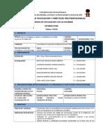 Informe Final de Vinculacion David Bustillos