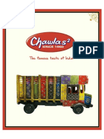 Chawla's 2 Menu