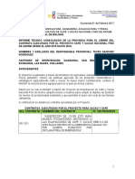 Informe Tecnico Provincial - Para Kit de Emergencia Cafe y Cacao -2016 - c