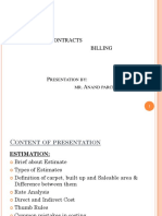 Estimation, Contracts & Billing