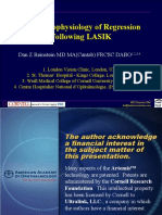 The Pathophysiology of Regression Following LASIK