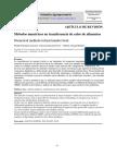 Metodos Numericos en Transferencia de Calor en Alimentos - Palomino Canciono - Bazan Torres