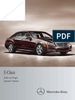 2012 E Class Sedan and Wagon