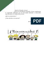 Cuadernillo Linguística y Ortografía