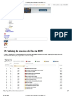 O Ranking de Escolas Do Enem 2009 - Maua