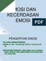 Emosi Dan Kecerdasan Emosi Februari 2013