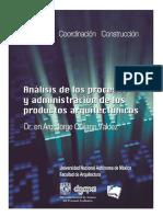 Tomo_i_proyecto_analisis de Procesos y Administracion de Los Arquitectonicos 2014