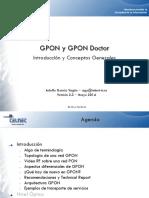 GPON Introducción y Conceptos Generales