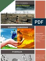cambio climatico y pobreza