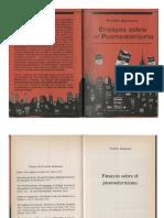 Fredric Jameson - Ensayos Sobre El Posmodernismo