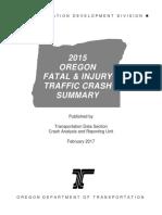 2015 Crash Summary Book (Issued February 2017)