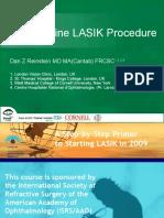 The Routine LASIK Procedure