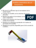 análisis mecanismo biela manivela