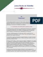 Documentos Finales de Medellín