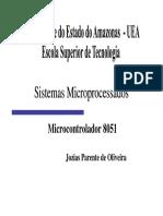 Aula06D-Sistemas Microprocessados 8051 - Hardware