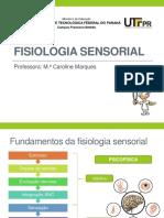 2 - Fisiologia Sensorial