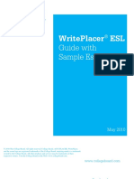 Accuplacer Writeplacer Esl Sample Essays