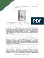 Reseña de Arqueología y Patrimonio Arqueológico en la Extremadura Contemporánea por Carlos Hernández Marín. Revista NORBA 35/2015
