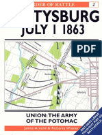 02 - Gettysburg July 1-1863 Union Army of the Potomac