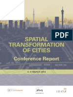 Spatial Transformation Conf Report