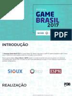 Pesquisa Game Brasil 2017