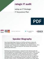 EuroCACSISRM Strategic IT Assurance