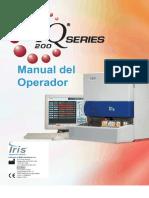 IQ 200 Manual del Operador