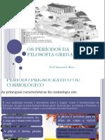 Os Períodos Da Filosofia Grega - Abimael