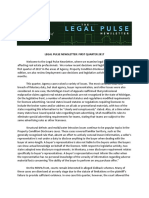 2017 Legal Pulse First Quarter 2017 Newsletter 6-20-2017