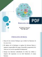 Fisiología General I - Membrana funciones, transporte - copia - copia.pptx