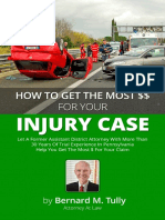 Pittsburgh PA Auto Accident Lawyer Bernard Tully Personal Injury eBook