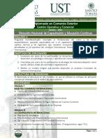 Diplomado en Comercio Exterior Gestion Operativa y Aduanera Sept2016