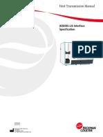 Aquios LIS Interface Specification