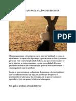 QUÉ HACER CUANDO EL VACÍO INTERIOR ES CONSTANTE.doc