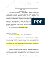"Glosas Dia Nacional Del Libro ""Argentina"""